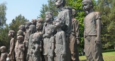 Pomník dětským obětem války - Památník Lidice