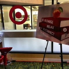 Target's recharge room!  #NSVFSummit 2014 | NewSchools Venture Fund 2014 #MSCEI #MSEducationInnovation #Mississippi