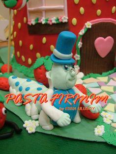 ÇİLEK KIZ PASTA – STRAWBERRY SHORT CAKE at PASTA FIRINIM Pasta Kurabiye ve Şeker Hamuru Çalışmaları