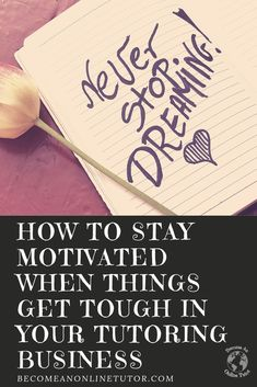 Staying Motivated when Times Get Tough in Your Tutoring Business: Habit Tutoring Business, Reading Tutoring, Job Security, Business Checks, Free Facebook, Online Tutoring, Special Education Teacher, Tough Times, Best Teacher