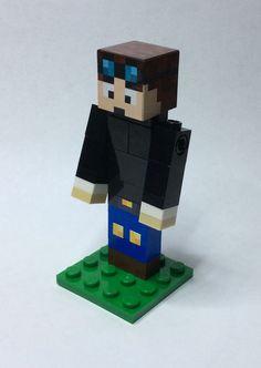 Lego Minecraft Custom DanTDM Great for by BackwellStation