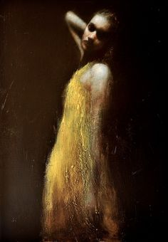 shadowlands 2, oil on canvas, 46ins x 32ins -- Mark Demsteader