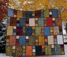 City Windows, available at www.kissedquilts.com