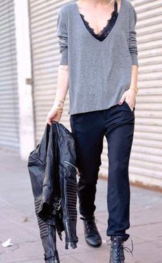 Masculine street style