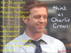 Charlie Crews quote (from Life tv show) Tv Show Life, Life Tv, Damian Lewis, 22 Years Old, Best Shows Ever, Movie Quotes, New Friends, Free Photos, Love Him