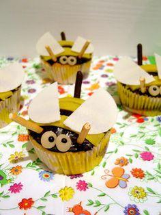 bee cupcakes (in german)