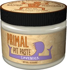 Primal Pit Paste Natural Deodorant - Ends Saturday 6/8, winner announced on blog at http://www.cheeseslave.com/