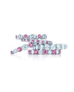 Tiffany diamond and pink sapphire rings 💕 Cartier Wedding Rings, Tiffany Wedding Rings, Wedding Ring Bands, Tiffany Rings, Pink Diamond Engagement Ring, Colored Engagement Rings, Diamond Rings, Ruby Rings, Diamond Jewelry