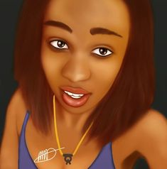 #AutodeskSketchbook #DigitalArt #Portrait #Practice #WeeklySketchChallange    Ndumiso Pretty