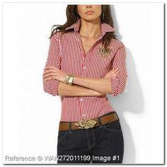 43,95 € | fashionisimo.com - Polo Ralph Lauren Camiseta para mujer ...