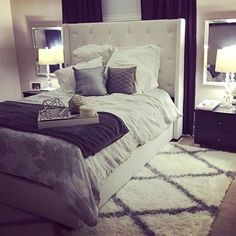 Master bedroom design hacks, This allows children keep their very own space neat by storing and organize toys in ways that suites them. It makes it much simpler to maintain the room nice organized. Dream Rooms, Dream Bedroom, Master Bedroom, Cozy Bedroom, Bedroom Decor, Bedroom Ideas, White Bedroom, Bedroom Designs, Budget Bedroom