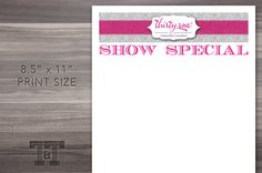 72 best Thirty One   Scentsy Business Cards images on Pinterest in     Thirty one Show Special Sign Printable  Word  PDF  JPG   Consultant  Thirty  One  31  Vista Print    Business Card TemplatesBusiness