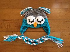 Hey, I found this really awesome Etsy listing at https://www.etsy.com/listing/130490136/baby-owl-hat-acrylic
