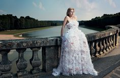 Kirsten Dunst as a latter-day Marie Antoinette in Chanel Haute Couture.