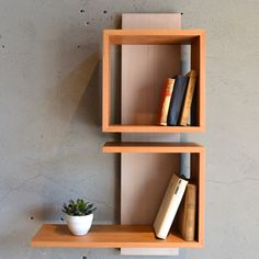 Wall Shelf Decor, Wall Shelves Design, Decor, Home Decor Furniture, Diy Home Decor, Wood Wall Shelf, Diy Furniture, Bookshelves Diy, Bookshelf Design