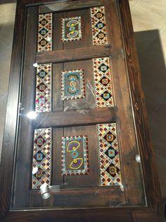 """sehpa """"eski kapı mozaik """" alacatı"""