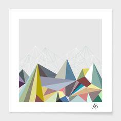 Colorflash 1 Print by Mareike Böhmer