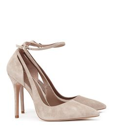 REISS - MARLA SUEDE ANKLE-STRAP SHOES