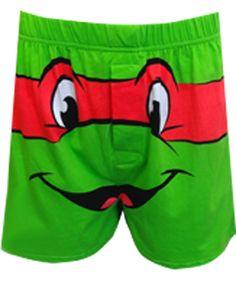 WebUndies.com Teenage Mutant Ninja Turtle Raphael Boxer Shorts