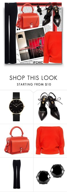 """""""Workwear Wardrobe! - Contest!"""" by asia-12 ❤ liked on Polyvore featuring CLUSE, Dee Keller, Carven, Rachel Comey, Marissa Webb and West Coast Jewelry"""