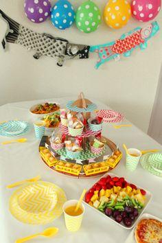 子供の日・端午の節句 テーブルコーディネート プラレールパーティー Kid's Train Party