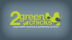 2 Green Chicks Logo