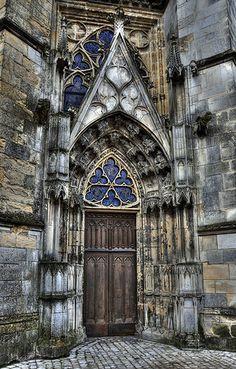 Orleans Cathedral Door by andyklink, via Flickr