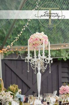 Alice in Wonderland - inspired candelabra