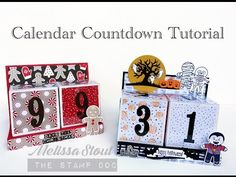 Calendar Countdown Tutorial - The Stamp Doc