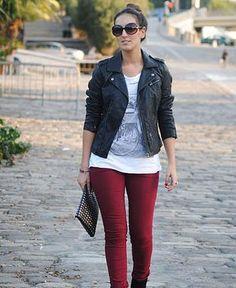 pantalon guinda - Google Search