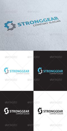 Strong Gear Logo - GraphicRiver Item for Sale
