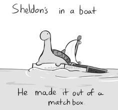 Sheldon the turtle...