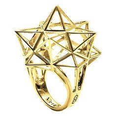 Framework Star Gold Ring 1