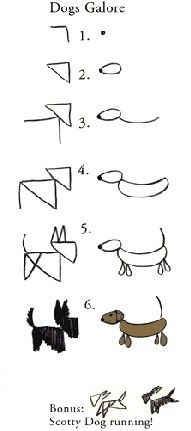 how to draw/doodle animals