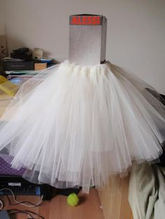 DIY flower girl ballerina tutu DIY Halloween