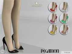 Madlen Pegamon Shoes  Sexy stiletto shoes for your sim! Come in...      Madlen Pegamon Shoes    Sexy stiletto shoes for your sim! Come in 7 colours (patent leather). Joints are perfectly assigned. All LODs are replaced with new ones.  You cannot change the mesh, but feel free to recolour it as long as you add original link in the description.  If you can't see this creation in CAS, please update your game. If you're experiencing thumbnail problem, update your game (latest patch shoul..