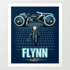Flynn's Son Art Print by MeleeNinja - $14.56