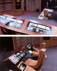 I wish I had a room in my house that was a recreation of the USS Enterprise-D bridge!