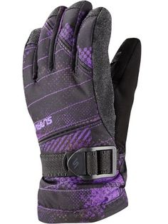 The Snapper Erosion Purple Print Ski Gloves is a key part of any ski or snowboard kit.  Each piece of Surfanic kit is built to withstand the most brutal conditions. Not quite what you are looking for?  Take a look at the Ski Gloves for even more ski and snowboard ideas.