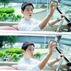 SJK in korean tourism ads. G Song, Song Play, Kdrama, Song Joong Ki Birthday, Song Joon Ki, Descendents Of The Sun, A Werewolf Boy, Sungkyunkwan Scandal, Actresses