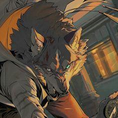 BNA Brand New Animal #bna #bradnewanimal #bnaanime #animebna #bna2020 #animes #animes2020 #otaku #animeanimal #girlanime #anime Male Furry, Furry Wolf, Furry Art, Fantasy Creatures, Mythical Creatures, Werewolf Stories, Werewolf Art, Human Shadow, Manga