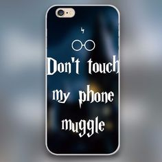 Do Not Touch My Phone Muggle Harry Potter Case for iPhone, Samsung, iPod