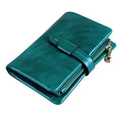 New Arrival Genuine Leather Wallets Women Luxury Brand Ladies Leather Wallets                                                                                                                                                     More