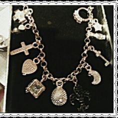 Sterling Silver charm bracelt