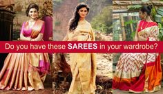 In the history of Indian clothing, Saree is considered as the national attire for Indian women. It has been in use from the time of Indus Valley civilization. Although every Indian woman wear saree on a daily basis in the usual style, yet the design and patterns of Indian sarees have got evolved with the time.   #Hand-Woven Sarees #Indian Attire #Indian Sarees #Indian Silk