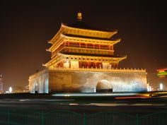 Bell tower Xi'an. Once, this building is my next door neighbor for a whole year. I miss you Xi'an.