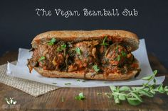 Vegan beanball sub with sautéed kale marinara sauce   Veggies Don't Bite *no changes made. The lentil balls were really tasty, but they were kind of dry & crumbly - maybe double the flax egg next time? The whole recipe was a bit labour intensive, but I could see it being a good freezer meal if everything was already made. A single hot dog bun (toasted) w/ 3 lentil balls & marinara was super filling (and delicious!)