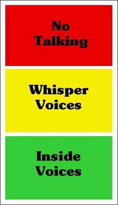 Classroom Management Ideas. Allows students to be aware of behavior and noise level in class.