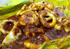 Chef's Recommendation - Sambal Sotong (Spicy Squid) ~ Singapore Food | Recipes