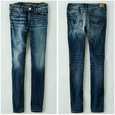 NWT AE Skinny Jeans Brand new All tags attached Size 00 Regular American Eagle Outfitters Jeans Skinny